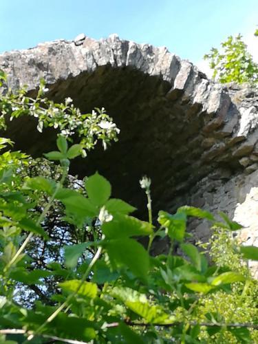 Frauenberg - Torbogen der Burgruine